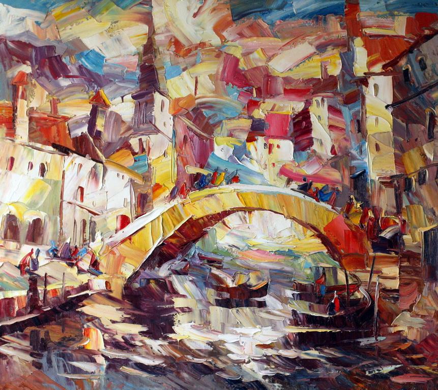 Венеция Солнце 90х100 100