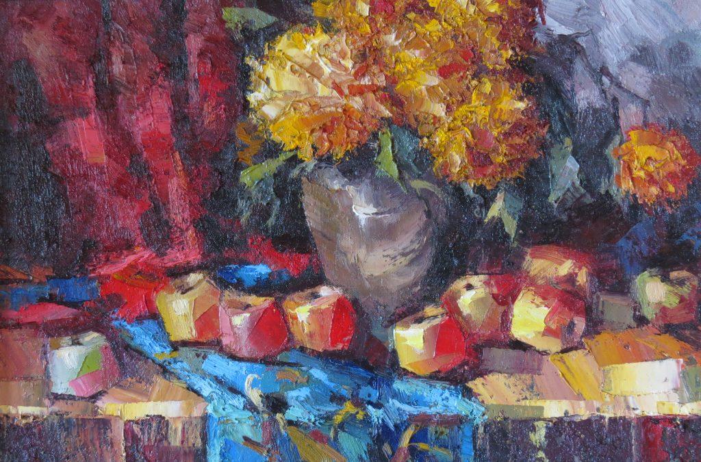 Натюрморт Осень 40х60 50